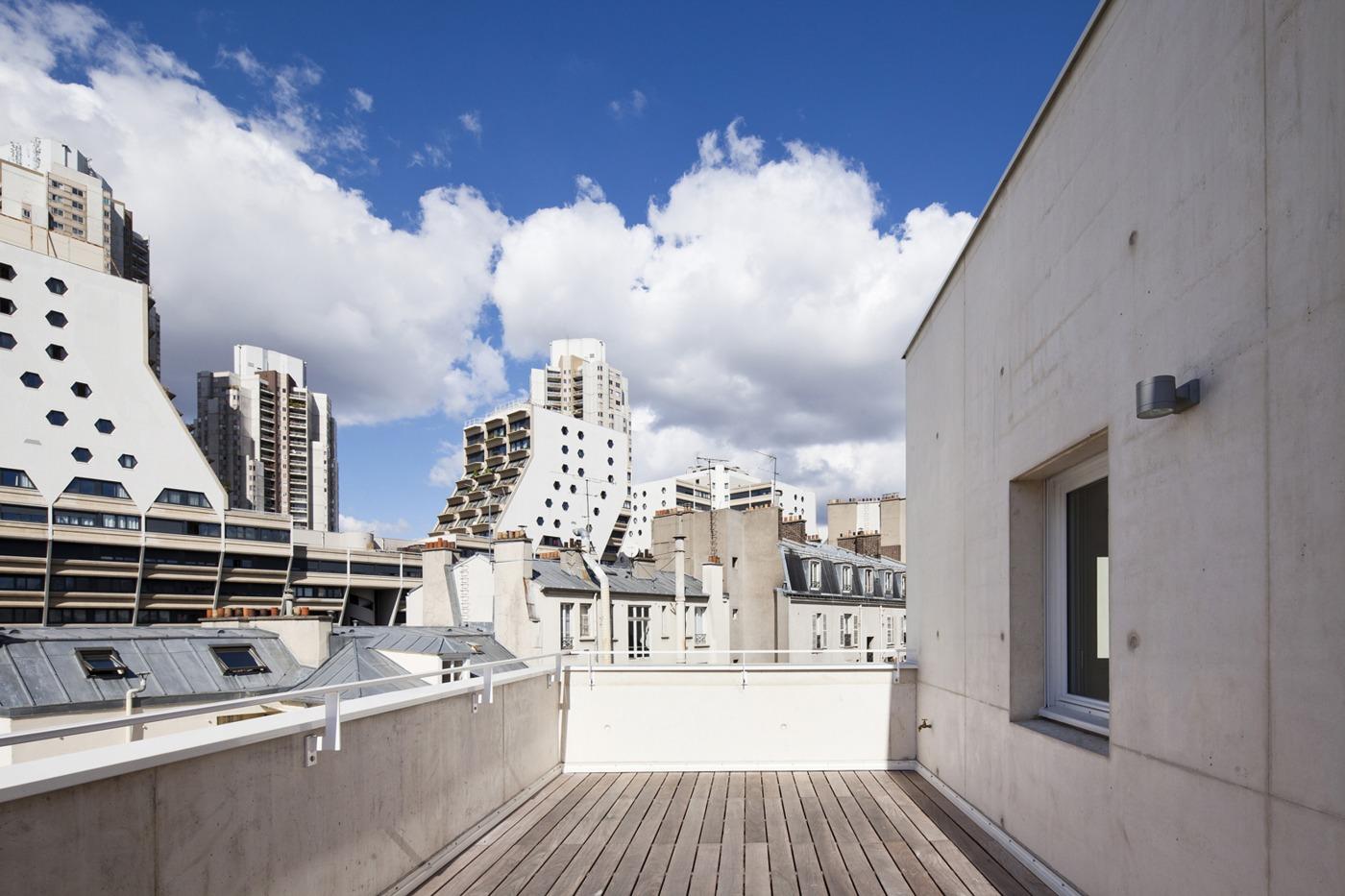 Rh architecture plein soleil for Projet architecture paris
